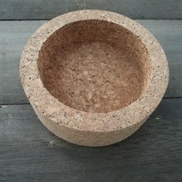 Wholesale Wholesale Bowl Candle Holder - Large Cylinder Shape Cork Candle Holder ,Made Of 100% Natural Cork ,Hand Made ,Special Mode For Home Decoration