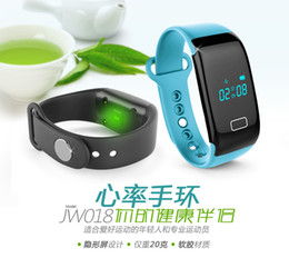 Wholesale Mobile Heart Rate Monitor - Waterproof Swimming KW18 Smart Watch Heart Rate Monitor Bluetooth Bracelet C16 Pedometer CALL SMS Reminder For IPHONE,SAMSUNG MOBILE GIFT