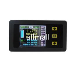 Wholesale Dc Digital Panel Voltmeter Ammeter - Freeshipping DC 120V 200A Wireless Digital LCD Display Digital Current Voltmeter Ammeter Power Energy Multimeter Panel Tester Meter Monitor