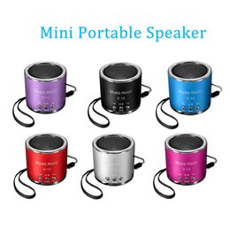 Wholesale Good Seal - Mini Speaker Z-12 Z12 Angel Kaidae With FM Support Micro TF Card Portable Music Player Speakers Multimedia Multicolour Z 12 Good Quality