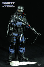 Wholesale Wood Toys Military - 2016 Free Shipping NEW Arrival SWAT soldier toys  military toys(SWAT ASSUALTER)