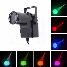Wholesale Auto Stores - AUCD Mini 10W RGBW 4 in 1 LED Pinspot Spotlight Disco Store DMX Beam DJ Party Show Projector Wedding Stage Lighting LE-M512