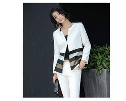 Wholesale Women Blazers Wholesale - freeshipping Spring and autumn fashion coat Korean style lady suit slim slim fashion ladies casual coat suit occupation coat