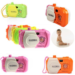 Wholesale Wholesale Baby Toy Camera - Baby Kids Toy Mini Plastic Simulation Cameras Kindergarten Christmas Gifts