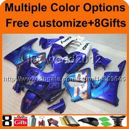 Wholesale honda cbr 919rr fairing - 23colors+8Gifts blue motorcycle cowl for HONDA CBR919RR 1998-1999 CBR 919RR 98 99 motor cover ABS Plastic Fairing
