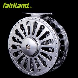 Wholesale Precision Stock - 7 8 100mm 3.94in 3BB METAL fly fishing reel PRECISION MACHINED fly reel from BAR-STOCK ALUMINUM w  INCOMING CLICK ice fishing wheel