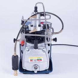 Водяные компрессоры онлайн-Компрессор воздуха Инфлатор 220В водяного охлаждения пневматического насоса высокого давления 30МПА электрический мини