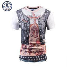 Wholesale Men Cross Tattoos - 2017 summer new arrival high quality brand t-shirts tendy style 3d print tattoo cross printed exquisite fashion tees mens sweatshirt