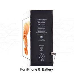 Lithium-batteriewechsel online-Echtes Mobiltelefon Eingebaute Lithium-Batterie für iPhone 4 4s 5 5s 5c Interner Ersatzakku für iPhone 6 6s 7 7 plus 8 +