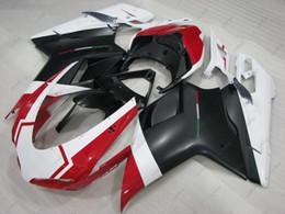 848 carenados online-Carenado ABS para Kits de carenado DUCATI 1098 09 848 2008 Kits de cuerpo blanco negro rojo 1198 2010 2007 - 2011