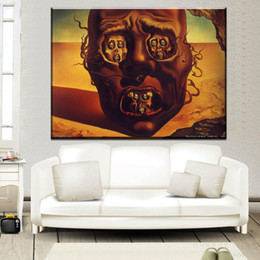 Wholesale War Poster - ZZ2064 modern decorative Salvador Dali The Face Of War Abstract Art canvas Poster Art Bedroom Decoration