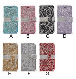 Canada Portefeuille de luxe diamant Bling Bling cristal PU cuir fente pour carte Bling Cover pour iphone X XS Max XR 6 S 7 8 Plus Galaxy S7 S8 S9 Note 8 supplier iphone bling leather Offre