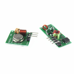 Wholesale 433mhz Transmitter Receiver Module - 433Mhz RF transmitter and receiver Module link kit For arduino ARM MCU WL diy 315MHZ 433MHZ wireless