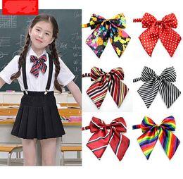 610381fed Niños ajustable pajarita uniforme escolar accesorios accesorios niños niñas  ceremonia de apertura día de apertura de la escuela rendimiento bowknot  lazos ...