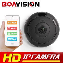Wholesale Max Audio - BOAVISION HD 960P 1.3MP VR WIFI IP Camera Max 64GB P2P Two-Way Audio 360 Degree CCTV Surveillance IP CAM WI-FI P2P View