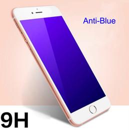 Canada Verre Trempé Film Protecteur D'écran 0.26mm Anti-Bleu avec Paquet De Papier Pour iPhone 6 4.7 5.5 4 4s 5 5s 5c Offre