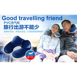 Wholesale Choice Travels - Wholesale- 5 color U shape travel air pillow, good choice for travelling, camping, inflatable, easy to carry, good material