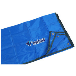 Wholesale Oxford Pads - Wholesale- Hot bluefield 180x220cm Oxford fabric picnic blanket, beach blanket, camping blanket, sleeping pad blue