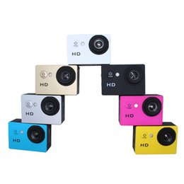 """Wholesale gb shipping - Sport Camera Action 2.0"""" 720P A7 Sport DV Action Diving 30M Waterproof Case 90 Degree Lens DHL Shipping"""