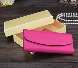 Wholesale Designer Handbags Japan - High Qaulity Snap Button Burse Women's Fashion Purses Real Leather Wallets Cross Pattern Brand Designer Gold Letters Handbags Cards Holders