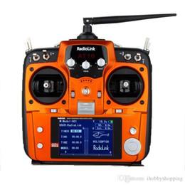 2019 автомобиль с углеродным волокном Радиолинк AT10 передатчик приемник 10-канальный 2.4 ГГц RC пульт дистанционного управления с r10d приемник для RC самолет вертолет