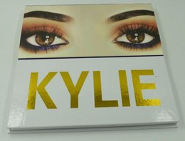 Wholesale Mini Eyeshadow Brushes - Kylie Shimmer Eyeshadow 12 Colors with Mirror Brush Eyes Concealer Mini Eye ShadowThe Royal Peach Palette Cosmetic Gift