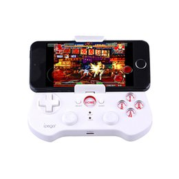 Contrôleur bluetooth android gamepad à vendre-IPEGA PG-9017S Wireless Bluetooth 3.0 Gamepad Game Controller avec support pour Android iOS Smartphone Tablet Smart TV Set-Top Box avec package