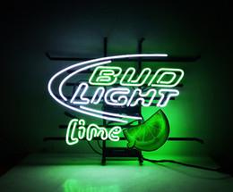 Wholesale Bud Sign Light - New HIGH LIFE Neon Beer Sign Bar Sign Real Glass Neon Light Beer Sign ME672 bud lime 19x17'' 001