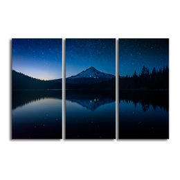 Wholesale print frame digital photos - Nature Scenery Nightscape Canvas Painting HD Photo Print on Canvas Non Frame Canvas Photography Prints(30cmx60cmx3)