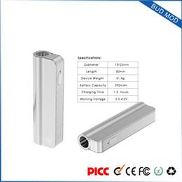 Wholesale E Vv - 2017 most powerful vaporizer New mini personal e cigarette box VV bud mod cig mechanical with Four-grade adjustable voltage