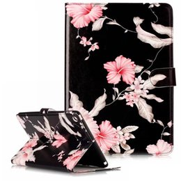 Wholesale Ipad4 Case China - For ipad 8 Marble Flower Leather Case For ipad Air 2 ipad4 mini 2 3 Samsung Tab S3 T820 Flip Cover with Stand Holder