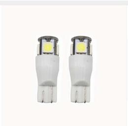 Wholesale Reading Flash Light - 100X T10 strobe led t10 5SMD 9SMD 5050 Auto flash LED Lamp Side Marker Lights Bulbs
