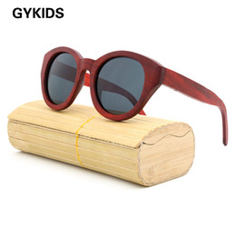 lunettes de refroidissement nouvelle mode Promotion Wholesale-New 2016 Fashion 100% Handmade Wood Wooden Sunglasses Cute Design pour Hommes Femmes gafas de sol steampunk Cool Sun Glasses
