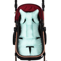Wholesale Car Head Rest Covers - Wholesale- H28 Kids Baby Toddler Soft Stroller Car Set Liner Pad Cover Head Rest Seat Cushion Mats New