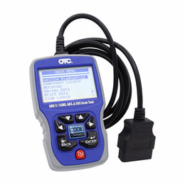 Wholesale Obd2 Scanner Codes - OTC 3111 PRO OBDII CAN ABS Airbag SRS OTC3111 PRO Trilingual Scan Tool OTC OBD2 Scanner OBD2 EOBD Code Reader Diagnostic Tool