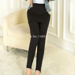 Wholesale Two Leg Color Leggings - Wholesale- 2014 New fashion hot sale Two-piece Legging Pantskirt Women's Fashion Leggings With Mini Skirts Slim Fit Winter & Antumn pants