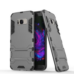 """Wholesale Irons Cover - For galaxy S8 Plus 6.2"""" Hybrid TPU+PC Shockproof anti-knock protector cover Iron Man Case For Samsung Galaxy s8 plus G955 Coque Fundas"""
