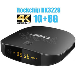 Wholesale Wifi Online - 2017 New T95D Android 5.1 TV BOX RK3229 1G RAM 8G ROM 2.4G WiFi TV Online Streaming Media Player VS V88 Android tv box Free shipping by DHL
