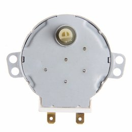 Wholesale Warm Air Blower - TYJ50-8A7 free shipping Microwave upkeep AC 220-240V 4W 6RPM 48mm Dia Micro Synchronous Motor for Warm Air Blower 50 60Hz CW CCW AT