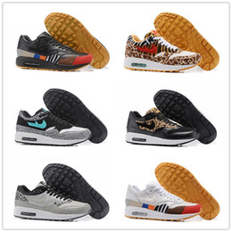 Wholesale Denim Shoe - Newest Zoom Air Shoes High Quality Air 1 Master   Masters of Air   Atmos 30th Anniversary Memorial Edition What The Running Shoes With Box