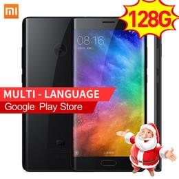 Wholesale Analog Tv Mobile Phone - Xiaomi Mi Note 2 6GM RAM 128GB ROM 22.56MP 5.7'' Snapdragon 821 Quad Core Note2 4000mAh Card 4K Video Mobile Phones