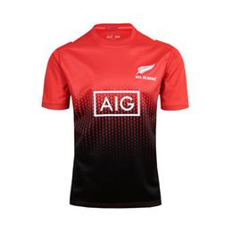 Wholesale Ruby Flash - 2016 New Zealand Ruby Jersey New All Blacks RWC Jersey 2015 New Zealand Rugby World Cup 2017 thailand quality Rugby Jerseys size:S-XXXL