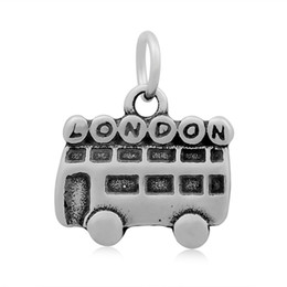 Wholesale Small Charms For Jewelry Making - 10pcs lot High Quality Wholesale Stainless Steel Travel Series Charms Small Pendant For DIY Jewelry Making Handmade Free Shipping