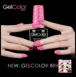 Wholesale Harmony Nail Polish - 249 colors Soak off gel lacquer gelcolor harmony gelish nail polish colors LED UV gel laque nail art gel polish frence nails free shipping