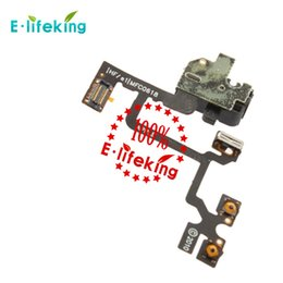 Wholesale New Headphone Cable - New Audio Flex Cable Ribbon Headphone audio flex handfree For iPhone 4 4G lcd