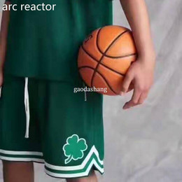 Wholesale men s mesh shorts - 2018 NEW Fashion Fear of God Men's Shorts Summer FOG Justin Bieber Zipper Skate Mesh Retro Shorts S-XL