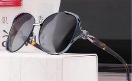 Wholesale Ladies Polarized - Sunglasses Women Gradient Polarized Diamond Frame Sun Glasses For Driving Luxury Lady Shades Eyewear Accessories