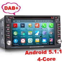 Wholesale Dvd Tiida - 2 DIN Universal Nissan Car Radio DVD GPS Android 5.1 Stereo Radio 3G Wifi DAB+ Mirror Link BT DVR DTV-IN