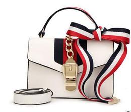 Wholesale Heart Box Patterns - New handbag Fashion boutique ladies bag Wild lychee pattern shoulder diagonal cross small square package wholesale and retail box handbag