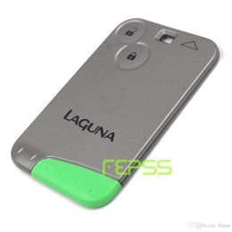 Wholesale Card Fob - New Remote Key 2 Button Fob 433Mhz PCF7947 for Renault Laguna Espace 2001-2006 Keyless Smart Card